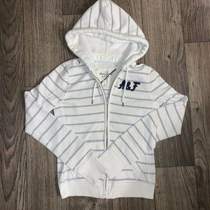 Abercrombie & Fitch Hooded Zip Up Jacket